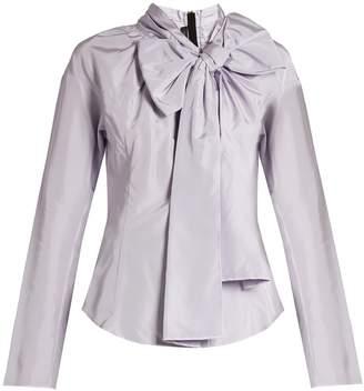 Marc Jacobs Decorative-pussybow taffeta blouse