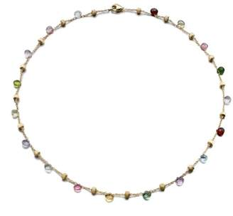 Marco Bicego Paradise Semi-Precious Multi-Stone & 18K Yellow Gold Station Necklace