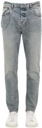The Kooples 18cm Slim Fit Destroyed Denim Jeans