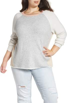 Caslon Colorblock Sweater