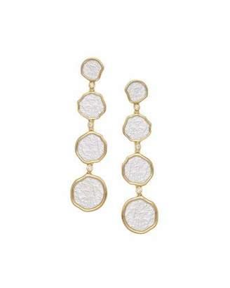 Coomi Serenity Graduated Drop Earrings with Diamonds