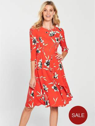 Very Printed Midi Dress - Floral