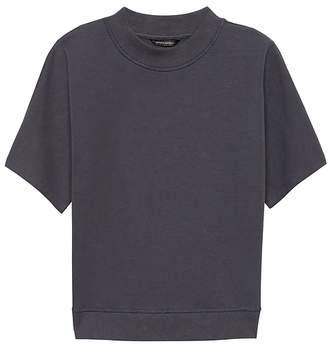 Banana Republic JAPAN ONLINE EXCLUSIVE French Terry Short-Sleeve Sweatshirt