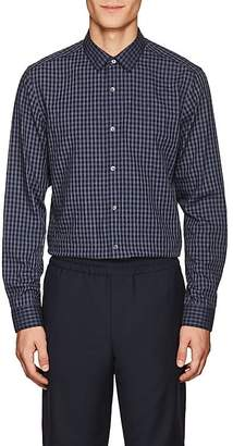 Theory Men's Murrary Checked Cotton Flannel Shirt