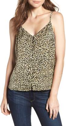 Cupcakes And Cashmere Jordane Printed Camisole