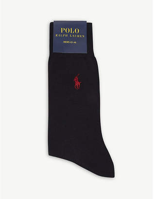 Polo Ralph Lauren Logo-embroidered trouser socks