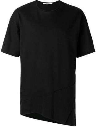 Chalayan triangle fold detail T-shirt