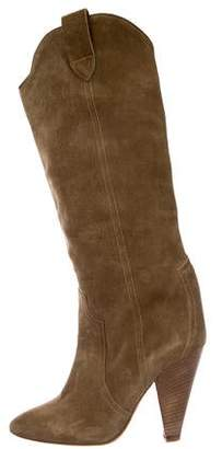 Etoile Isabel Marant Suede Knee-High Boots