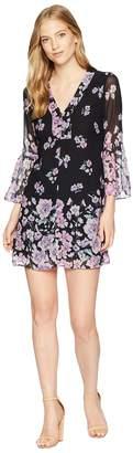 Nanette Lepore Revel Silk Print Shift Dress Women's Dress