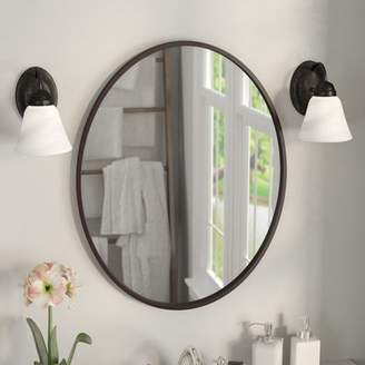 Co Darby Home Lincolnwood Oval Wall Mirror