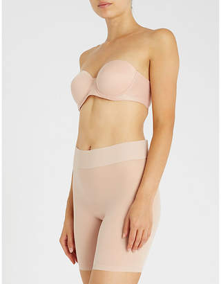 Wolford Sheer Touch underwired bandeau bra - ShopStyle