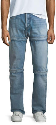 Balenciaga 3-in-1 Convertible Dirty Blue Jeans