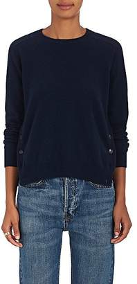 Barneys New York Women's Button-Vent Cashmere Sweater