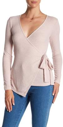 Bobeau Wrap Knit Shirt $48 thestylecure.com