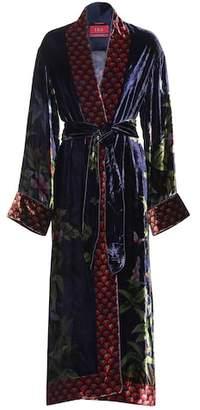 F.R.S For Restless Sleepers Nomos velvet dress
