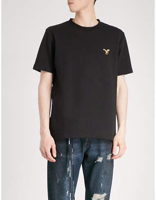 Off-White Eagle logo cotton-jersey T-shirt