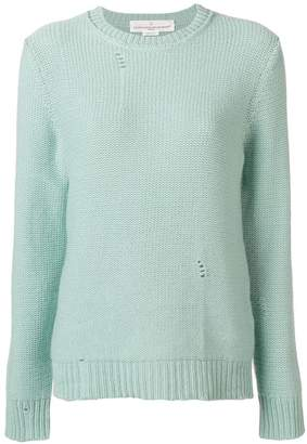 Golden Goose cashmere distressed jumper