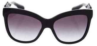 Dolce & Gabbana Gradient Oversize Sunglasses