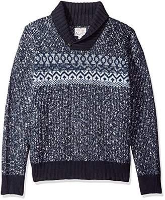 Lucky Brand Men's Snowshoe Shawl Sweater