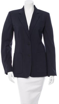Jean Paul Gaultier Notch-Lapel Wool Blazer w/ Tags $145 thestylecure.com