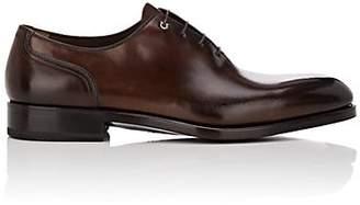 Salvatore Ferragamo Men's Barclay Leather Balmorals - Dk. brown
