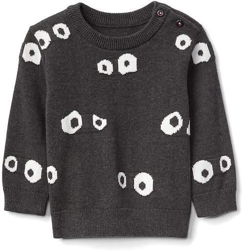 Halloween googly eyes sweater