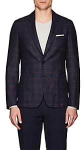 Paul Smith MEN'S SOHO CHECKED WOOL TWO-BUTTON SPORTCOAT