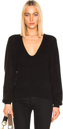KHAITE Mallory Sweater in Black | FWRD