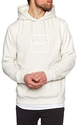 HUF Men's Outline Box Logo P/o Hoodie