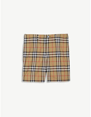 Burberry Vintage Check cotton shorts 4-14 years