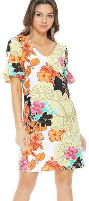 Aryeh Multicolored Floral Dress