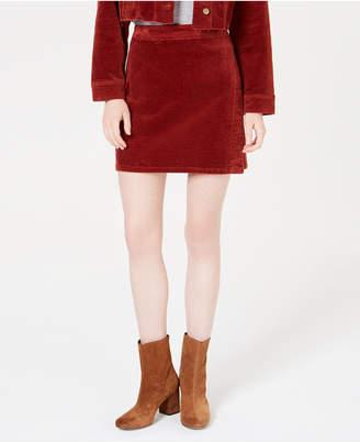 Tinseltown Corduroy Wrap Skirt
