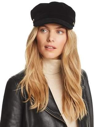 August Hat Company Velvet Newsboy Cap