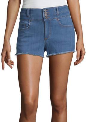 Arizona 2 1/2 Denim Shorts-Juniors