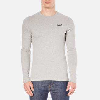 Superdry Men's Orange Label Long Sleeve Top