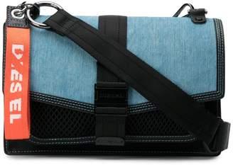 Diesel patchwork crossbody bag