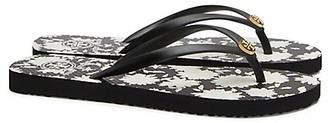 Tory Burch Thin Flip Flops $50 thestylecure.com
