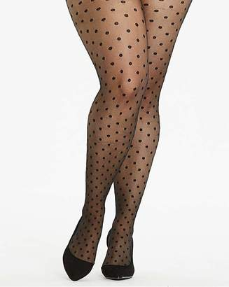 Naturally Close 1 pack Spot Mesh Tights