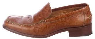 Hermes Leather Dress Loafers