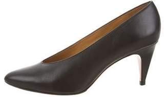 Etoile Isabel Marant Pointed-Toe Leather Pumps