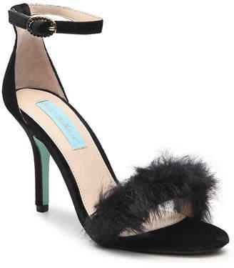 Betsey Johnson Nolte Velvet Sandal - Women's
