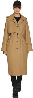 Juun.J Cotton Canvas Trench Coat