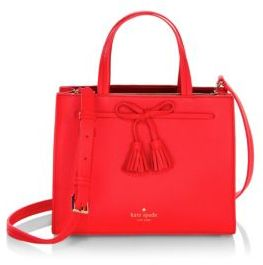 Kate Spade New York Hayes Street Small Isobel Convertible Satchel $328 thestylecure.com