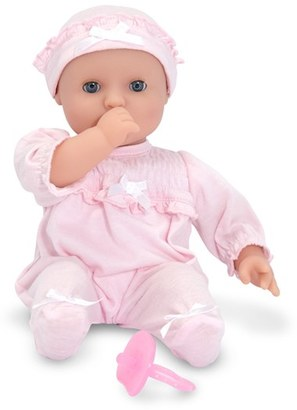 Toddler Melissa & Doug 'Mine To Love - Jenna' Baby Doll $24.99 thestylecure.com