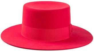 Saint Laurent wide brim hat
