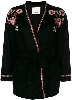Pinko embroidered kimono jacket