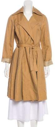 Organic by John Patrick Casual Knee-Length Coat