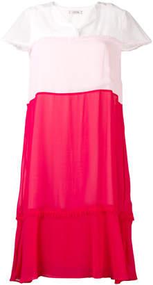 Schumacher Dorothee colour block dress