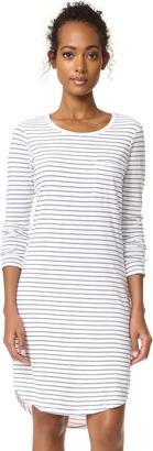 SUNDRY Stripe Pocket Dress $130 thestylecure.com