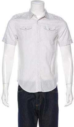 Diesel Striped Button-Up Shirt w/ Tags